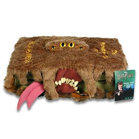 the of harry potter books harry potter book of monsters plush