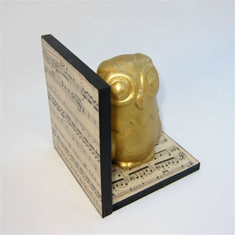 Ease By Owl Book Store make your own gilded owl bookends morena s corner