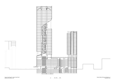 House Plans With A View gallery of richard meier unveils 180 meter tower
