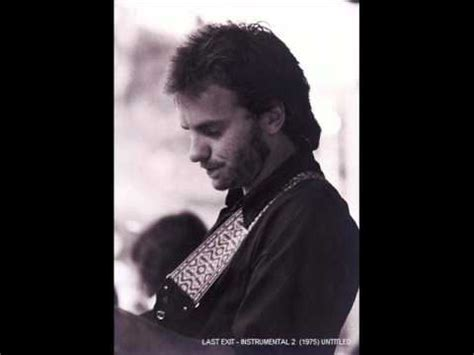 Sting Out Bland Keyboards by Sting With Last Exit Instrumental 2 1975 Untitled