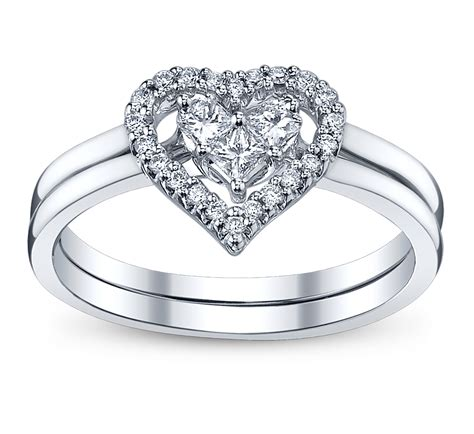 eheringe mit herz 4 bow engagement rings for the