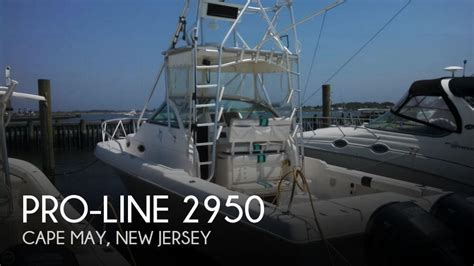proline boats for sale in nj for sale used 1992 pro line 2950 in cape may new jersey