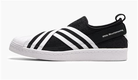 Adidas Superstar Slipon X White Mountaineering For adidas superstar slip on x white mountaineering superstar shoes