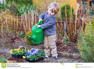 Boy Models Garden Of Flowers » Home Design 2017