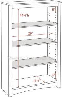Prepac Bookcase Prepac Oak 4 Shelf Bookcase Gowfb Com