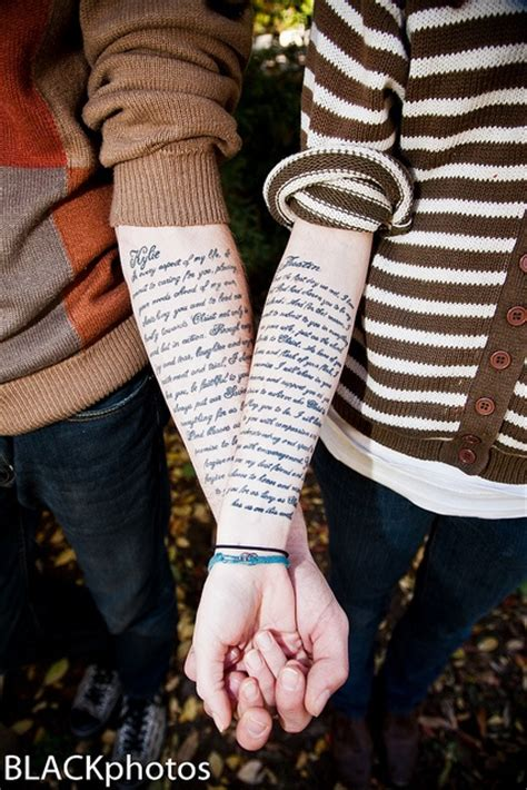 love vow tattoo wedding vows tattoos pictures to pin on pinterest tattooskid