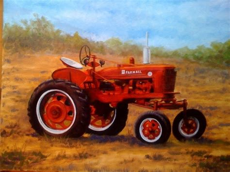 tractor painting tractor painting by agstudio1 on deviantart
