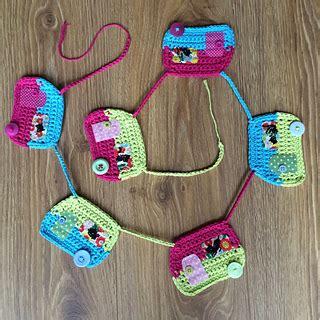 caravan knitting pattern ravelry crochet caravan bunting pattern by flo and dot