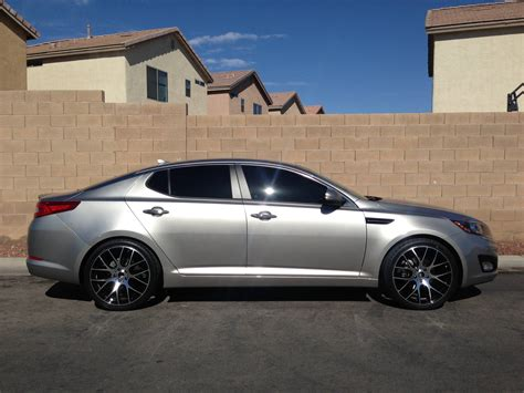 Rims For 2013 Kia Optima Kia Optima Custom Wheels 20x8 0 Et 35 Tire Size 245 35