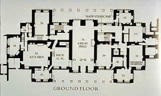 Knole House Floor Plan Floor Plans Mid Tudor Manor