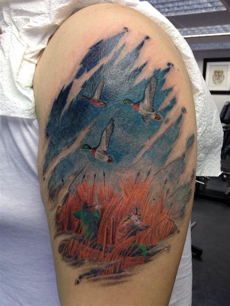 duck tattoo duck sleeve