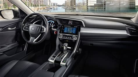 Civic Interior by Interior The 2017 Civic Honda Canada