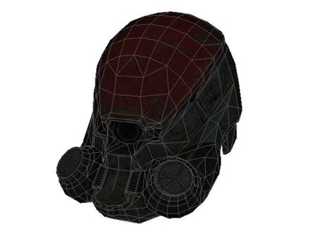 Papercraft Helmets - rage government soldiers helmet papercraft free template