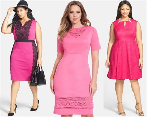 pink dress for valentines day 15 plus size pink dresses for s day shapely