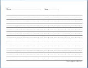 free blank handwriting worksheets for kindergarten 6