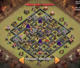 Coc th 9 base war