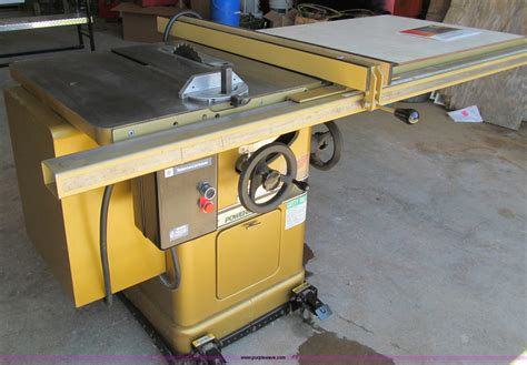 powermatic 66 table saw item a8358 sold wednesday