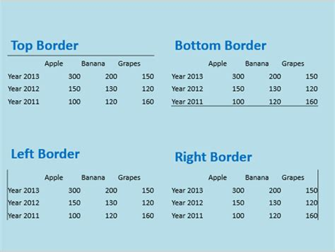 Table Borders by Toggle Visibility Of Table Borders In Powerpoint 2013 For