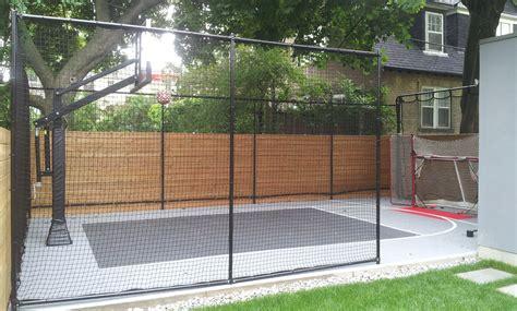 backyard net 20x32 backyard court by total sport solutions