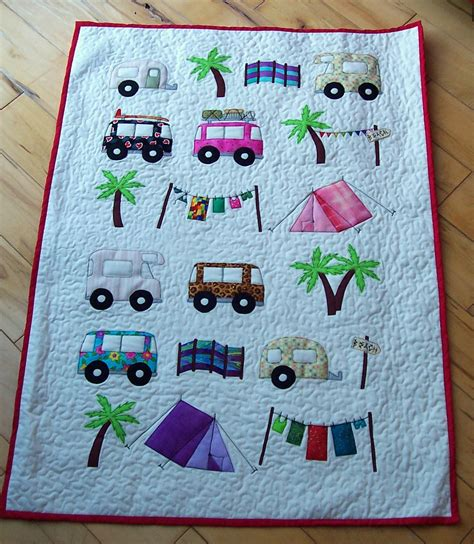 Backpacking Quilt Pattern by House Of Spoon Cing Cot Quilt Babyroom9