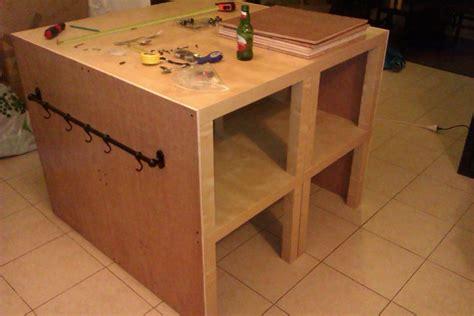 kitchen island hack ikea hack billy bookshelves kitchen