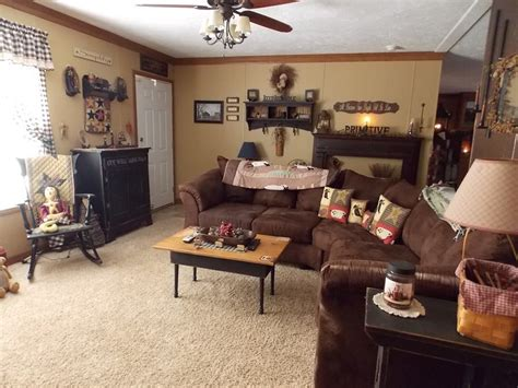 home decor family room manufactured home decorating ideas primitive country style
