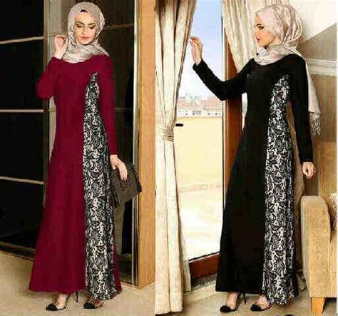 Dress Spandek Melisa Benhur M baju gamis pesta miss jahira p 605 gaun pesta model