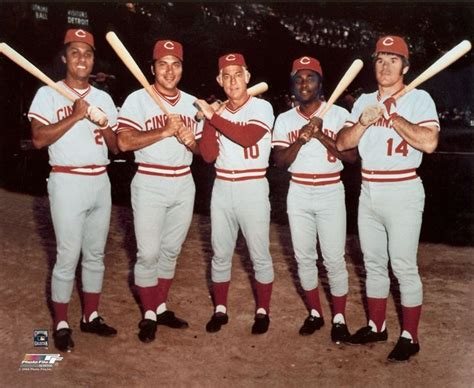 johnny bench and pete rose the big red machine tony perez johnny bench sparky