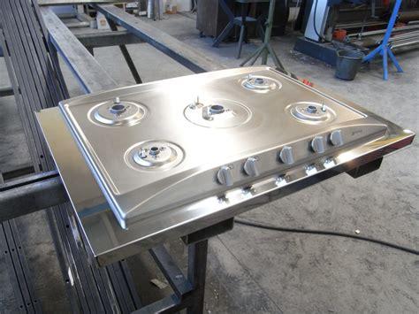 piano cottura in acciaio piano cottura in acciaio inox lucido bologna fferrarini rsm