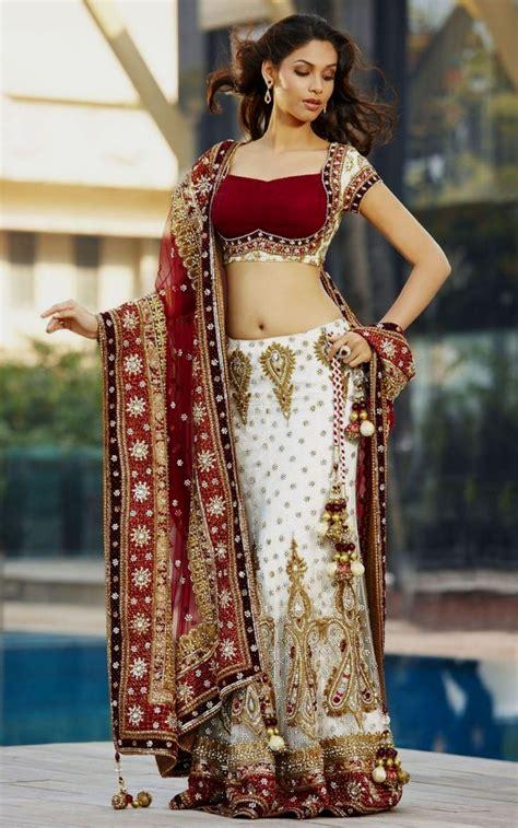 indian bridal wedding lehenga choli style sarees designs of sarees bridal dresses 32 enchanting indian bridal dresses