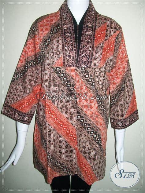 Blus Rok Batik Warna Kode Ba5281 batik wanita pekerja kantor batik model gradasi untuk blus