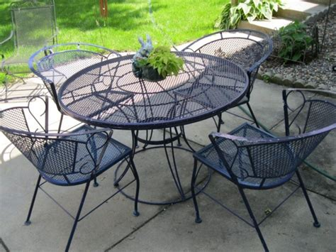 iron wrought patio furniture furniture arlington house wrought iron chair walmart
