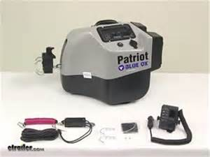 Brake Assist System For Towing Compare Blue Ox Patriot Vs Roadmaster Brake Lite