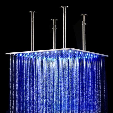 pommeau de led rainfall led shower 187 gadget flow