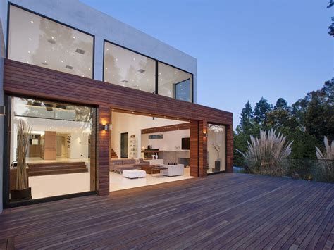 Modular Homes With Open Floor Plans by World Of Architecture Modern Beverly Hills House Wood Glass And Stone