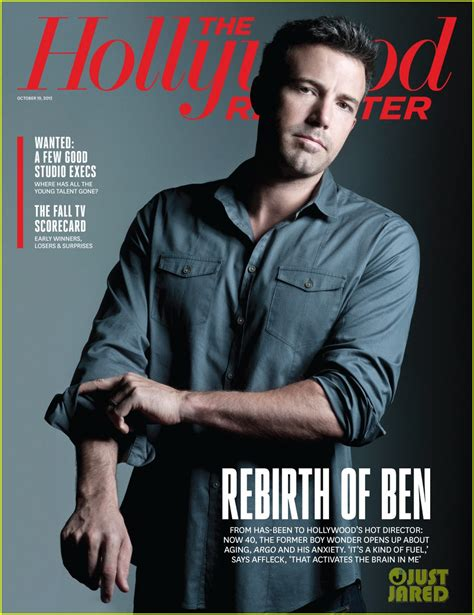 Garner On The Cover Of by Ben Affleck Covers The Reporter Photo 2736016