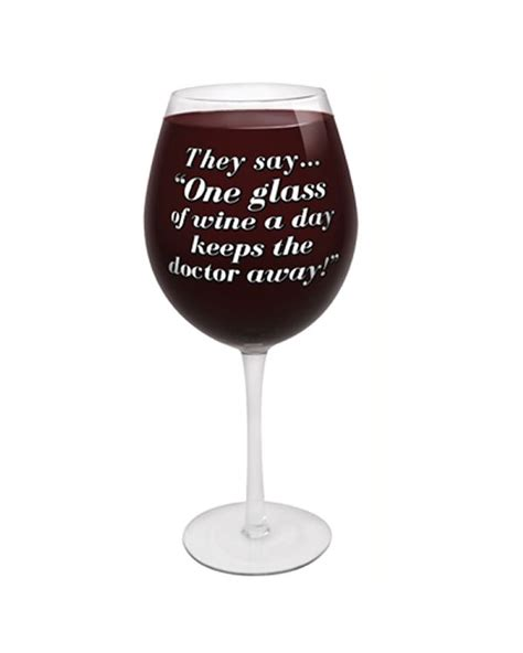 worlds largest wine glass novelty gifts  laugh