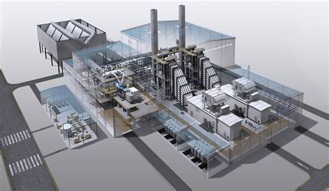 layout of steam turbine power plant architectural layout of the combined heat and power plant