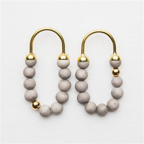 Beaded Hoop beaded hoop earrings quot tembi quot klaylife kaufmann mercantile