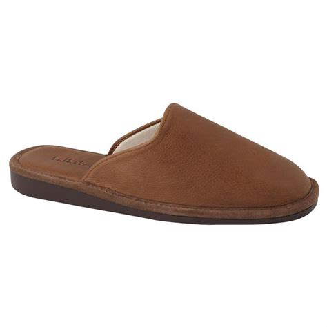 elk slippers s l b 174 york elk leather scuff slippers