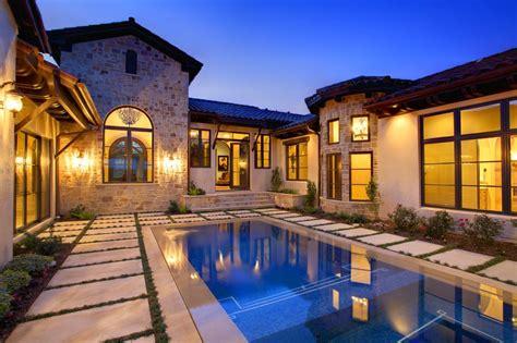 Center Courtyard House Plans Courtyard Retreat Vanguard Studio Inc Austin Texas