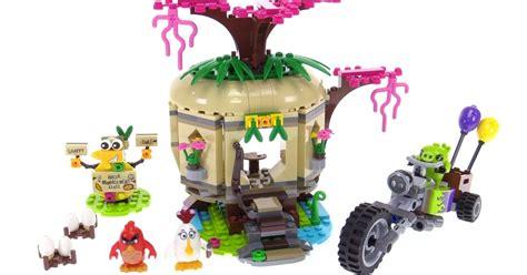 Lego Birds Set lego angry birds bird island egg heist review 75823