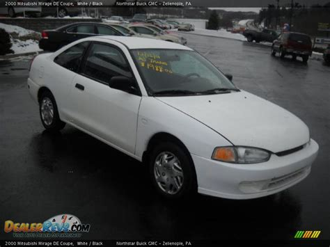 mitsubishi coupe 2000 2000 mitsubishi mirage de coupe white black photo 2