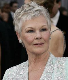 how to cut judi dench bangs judi dench hair google search chemo hair styles