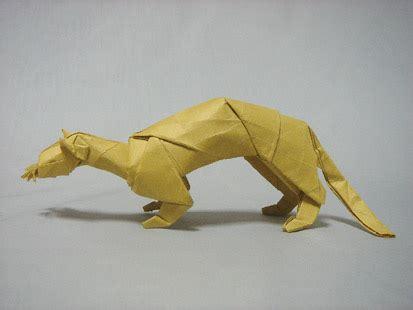 Origami Weasel - weasel