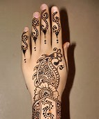Hand Mehndi Arabic Henna Designs