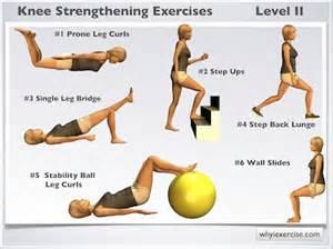 Here are some knee strengthening exercises