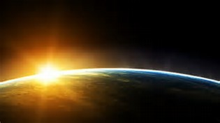 Sunrise From Space HD Wallpaper 1920X1080