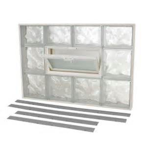 Glass Block Windows With Vent Images