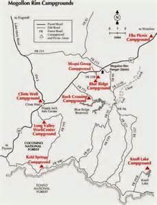 payson arizona map knoll lake arizona near payson az